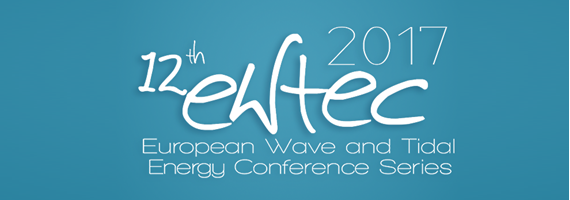 Logo for the EWTEC 2017 conference series