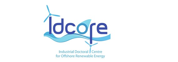 Logo for the Industrial Doctoral Centre for Offshore Renewable Energy